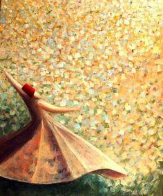 """""""Cada vez que logramos amar sin expectativas, cálculos y negociaciones, estamos de hecho en el cielo"""". Hz. Rumi"""