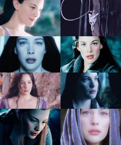 Arwen, daughter of Elrond, in whom it was said that the likeness of Lúthien had come on earth again; and she was called Undómiel, for she was the Evenstar of her people.