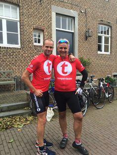 Met Erben Wennemars bij Tempo-Team Ride For Life