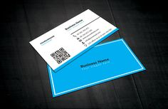 Brown white business card template visiting card design free blue white business card template reheart Gallery