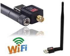 Mini USB Wireless WiFi Network Card n/g/b Antenna LAN Adapter - Features Mini portable USB design. Wireless N speed up to ideal for internet surfing and on-line gaming. Cool Gadgets, Wifi, Usb, Cool Stuff, Cards, Maps, Cool Tools