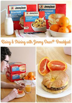 Have a hot and protein-packed breakfast in front of your kids in just minutes with these easy to make Jimmy Dean® breakfast favorites. #ad