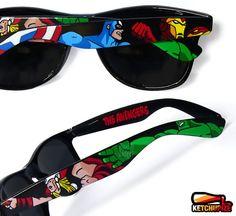 The Avengers Sunglasses Wayfarer Style
