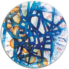 """Saatchi Online Artist: Francoise Issaly; Acrylic, 2012, Painting """"Structure - Cigale XIX"""""""