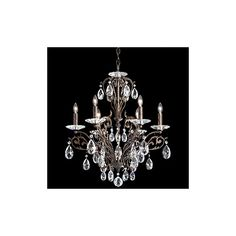 Found it at Wayfair - Filigrae 6 Light Crystal Chandelier