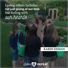 @karenehmanp31  #ListenLoveRepeat #zondervan
