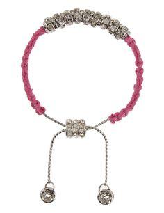 BCAM Diamanté Friendship Bracelet   M&S