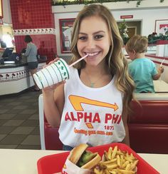 I love this In-N-Out sorority themed t-shirt. I would definitely be wearing this every day!