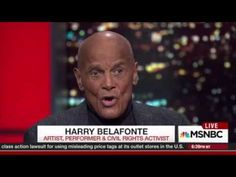 Artist, performer, and civil rights activist Harry Belafonte, who is supporting Bernie Sanders, affirms the senator's history of fighting for civil rights.