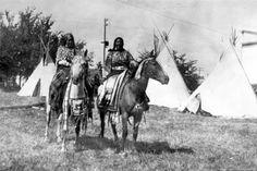 Nez Perce man – 1899