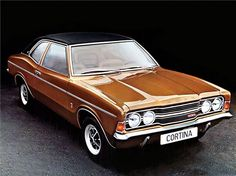 The Ford Cortina is back, but for all the wrong reasons. The Ford Cortina was a statement of British automotive manufacturing for 20 years. From its first conception in the Ford Cortin… 70s Cars, Cars Uk, Retro Cars, Vintage Cars, Classic Cars British, Ford Classic Cars, British Car, Ford Motor Company, Gp F1
