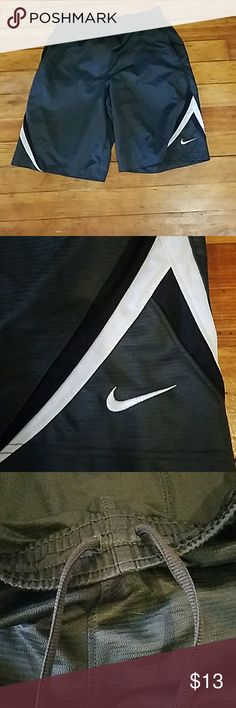 Gym shorts Great condition gym shorts from Nike with inside drawstring that works Nike Shorts Athletic