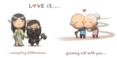 These Heartwarming Illustrations Perfectly Show What Love Really Is - Higher Perspective