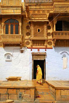Jaisalmer, India, via Amrita Jamra Goa India, Haveli India, Varanasi, Agra, Rishikesh, Jaisalmer, Udaipur, Nepal, Taj Mahal
