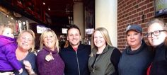With Drew Lachey at Lachey's Bar