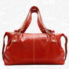 1f237f717 Elegantná kožená kabelka s veľkým úložným priestorom vyrobená z pravej  talianskej kože. Kabelka je nositeľná