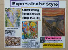 Expressionist poster