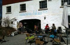Cafe Himmel-blaa in beautiful Vettre in Asker