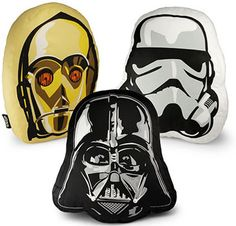 Star Wars Pillows May the Force Squeeze with You...