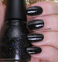 Sinful Colors Starry Night | Be Happy And Buy Polish http://behappyandbuypolish.com/2014/11/10/sinful-colors-glitter-nail-polishes/