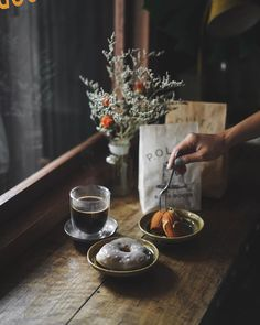 Among life's simplest, yet most enduring pleasures is a cup of hot coffee. Dark Food Photography, Cake Photography, Coffee Photography, Vintage Coffee Shops, Vintage Cafe, Coffee Shop Aesthetic, Vegan Cafe, Cafe Art, Ceramic Coffee Cups