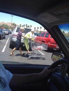 They're always looking to have fun: | 32 Reasons Old People Need To Be Protected At All Costs