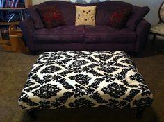 DIY Tutorial: DIY home crafts  / DIY Pallet Tufted Ottoman - Bead&Cord