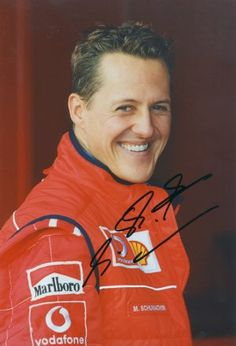 Michael Schumacher -Contact A-List celebrities free at StarAddresses.com