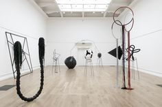 eva rothschild at south london gallery 2007