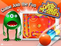 Grab yourself a free copy on the App Store now : http://georiot.co/f2j  Dragon Monsters rule in wobbly Jellyland and the survival game is on! Shoot and Match up three or more jelly bombs with your favourite monster firing at the helm in this addictive and fun zumi logic puzzle game.  Jelly Monsters are notoriously very greedy, they roam through the worlds looking for the best wobbly tracks from which to collect the most jelly bombs, but time is ticking so be quick and aim sharp!
