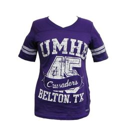 Soffe V Neck Football Tee from the UMHB Bookstore