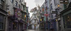 O Universal Studios Florida inaugura no dia 8 de julho o Beco Diagonal, com várias lojas e jornada no Expresso de Hogwarts