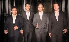 The Canadian Tenors. they were my ultamite favorite band.....until i found the wonderful world of rock :)