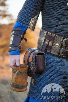 Viking's Leather War Belt