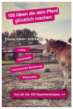 100 Ideen die dein Pferd glücklich machen - Hol dir jetzt das PDF mit den Ideen und mach dein Pferd glücklich!