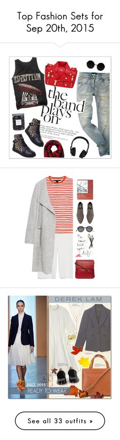 """""""Top Fashion Sets for Sep 20th, 2015"""" by polyvore ❤ liked on Polyvore featuring Moschino, Nixon, Threshold, Zara, Marc by Marc Jacobs, Fiorelli, Acne Studios, Ilia, Derek Lam and Vince Camuto"""