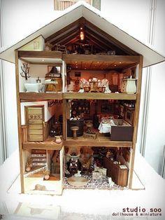 2011 seoul doll fair [dollhouse] by studio soo, via Flickr