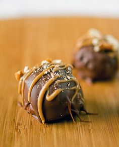 Peanut Butter Pretzel Truffles are salty and sweet in the best way