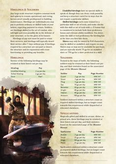 Fortresses, Strongholds and Temples for Players Part 2