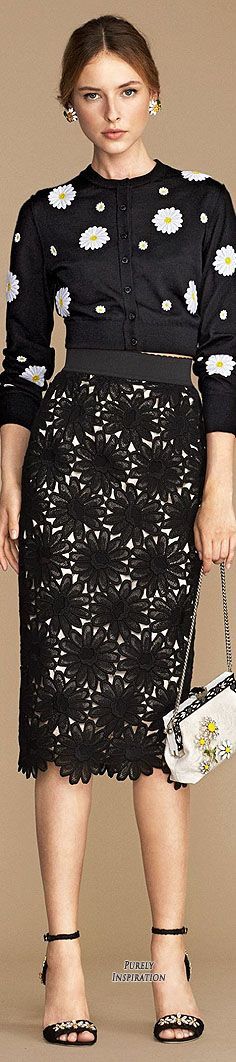 Dolce & Gabbana SS2016 Cruise Women's Fashion RTW | Purely Inspiration