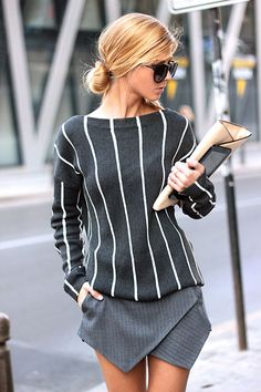 Stripes combined with stripes..