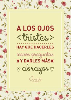 #abrazos