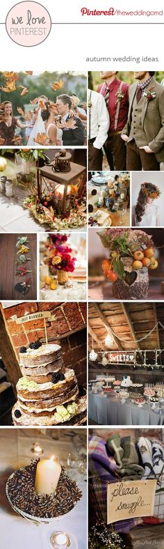 Autumn Wedding Ideas                                                                                                                                                                                 More