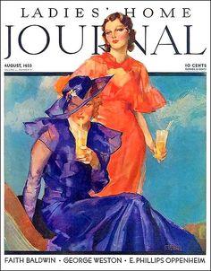 Ladies' Home Journal August 1933 John LaGatta