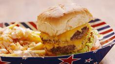 Animal-Style Burgers  - Delish.com