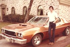 vintage everyday: 50 Snapshots of People Posing Next to Their Damn Cool Cars in the 1970s