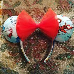 Custom Tigger and friends ears #disney #mickeyears #shareyourears #disneyworld #disneyland #wdw #waltdisneyworld #disnerd #disneygram #mouseears #customears #disneybound #etsy #crafting #instadisney #disneyside #askmeaboutmyears #disneylife #disneyaddict #minnieears #disneyobsessed #disneyparks #3mazingears