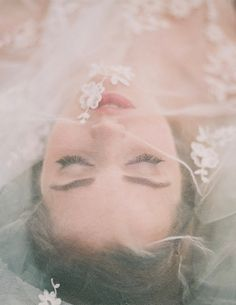 Enchanted Atelier for Maison Sophie Hallette Veil / Laura Gordon Photography