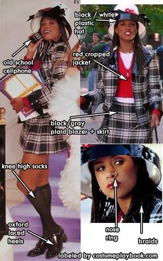 Costume Guide - Make way for Cher (Alicia Silverstone) and Dionne from  Clueless! cddf0ed57