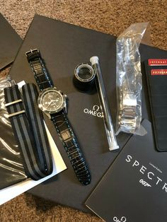 Omega SPECTRE James Bond limited edition Seamaster 300 Master Co‑Axial watch · $7,077.07